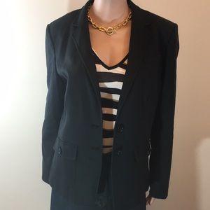 Black Banana Republic blazer with stretch, Sz16